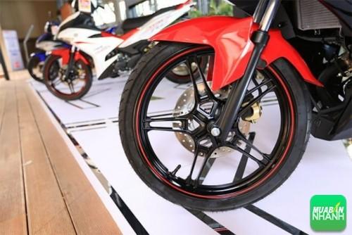 Yamaha Exicter 150 có giảm xóc yếu