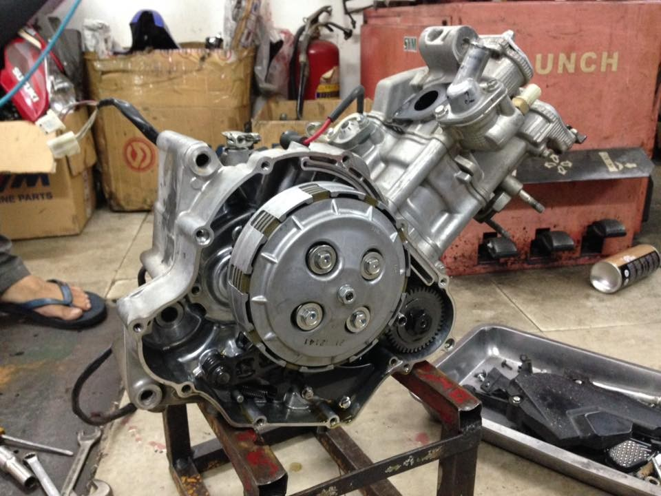 iếng máy xe Yamaha Exicter 150 kêu to