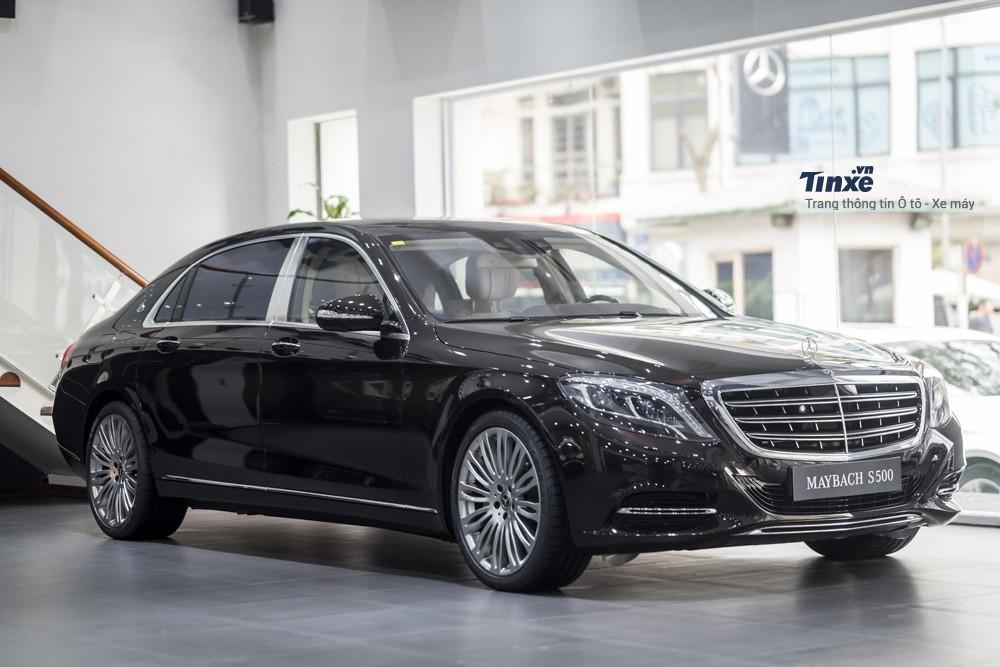 Mercedes-Maybach S500 với giá bán 11 tỷ VNĐ tại Việt Nam