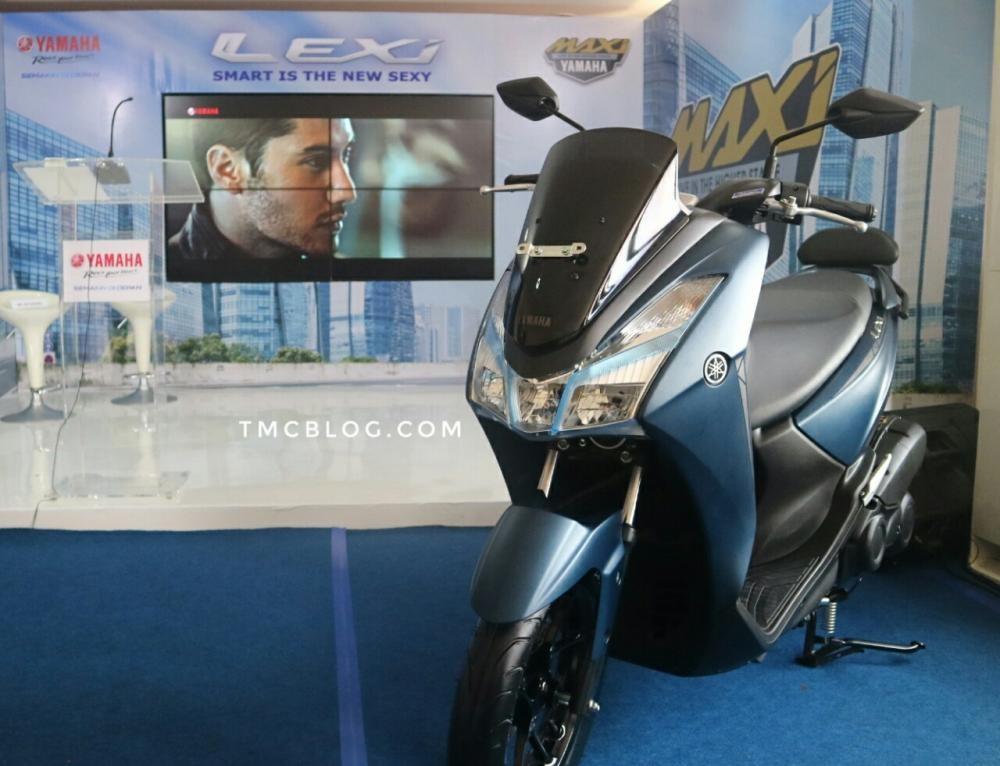Yamaha Lexi 125 2018 chính thức ra mắt tại Indonesia
