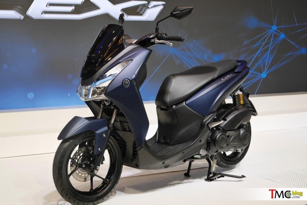 Xe Yamaha Lexi 125 2018 với thiết kế maxi-scooter
