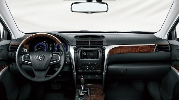 Nội thất của xe Toyota Camry