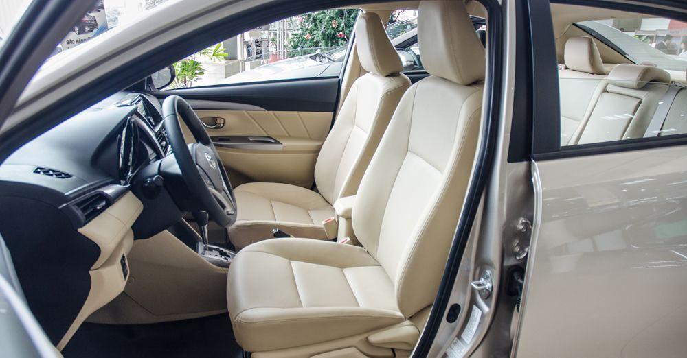 Nội thất của xe Toyota Vios