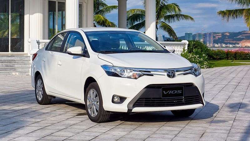 ngoại thất của xe Toyota Vios