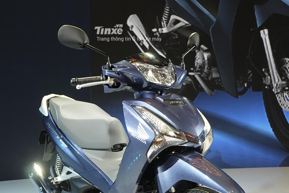 Thiết kế ở phần đầu Honda Future 125 2018 đã được thay đổi hoàn toàn