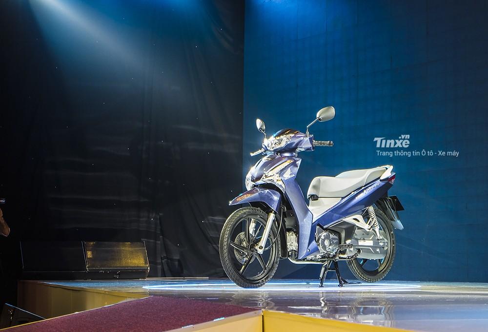 Mẫu xe Honda Future 125 2018 mới ra mắt
