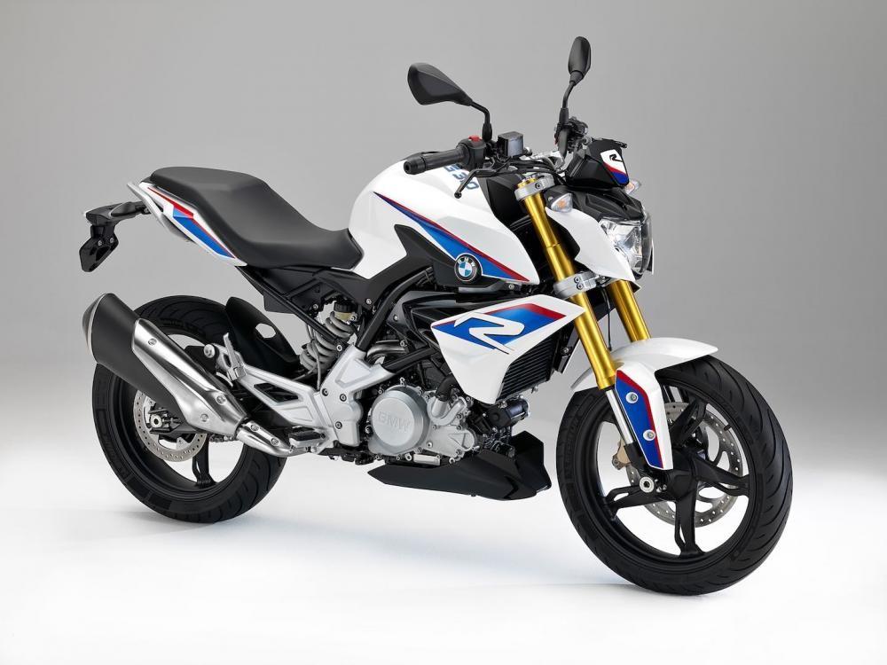 xe BMW G310R mang thiết kế naked bike hướng đến việc đi lại hàng ngày trong thành thị