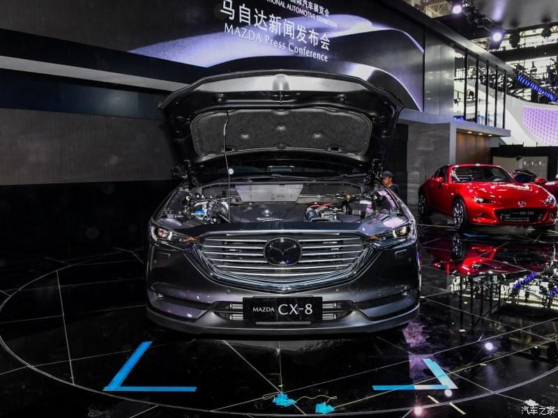 Mazda CX-8 dùng động cơ chung với CX-5