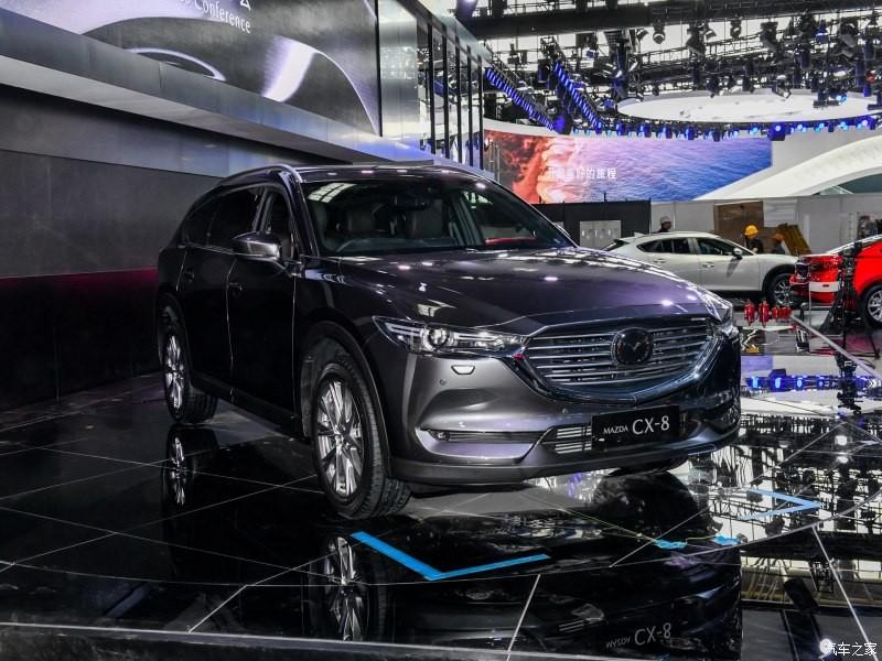 Mazda CX-8 là lựa chọn thay thế tại những thị trường không có CX-9