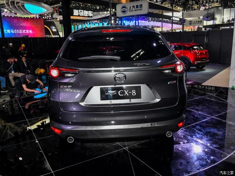 Mazda CX-8 có thiết kế đuôi xe giống CX-9