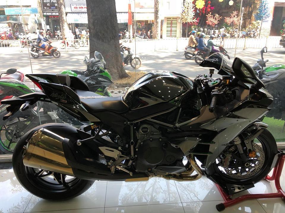Kawasaki Ninja H2 2018 đầu Tiên Về Việt Nam đã Có Chủ