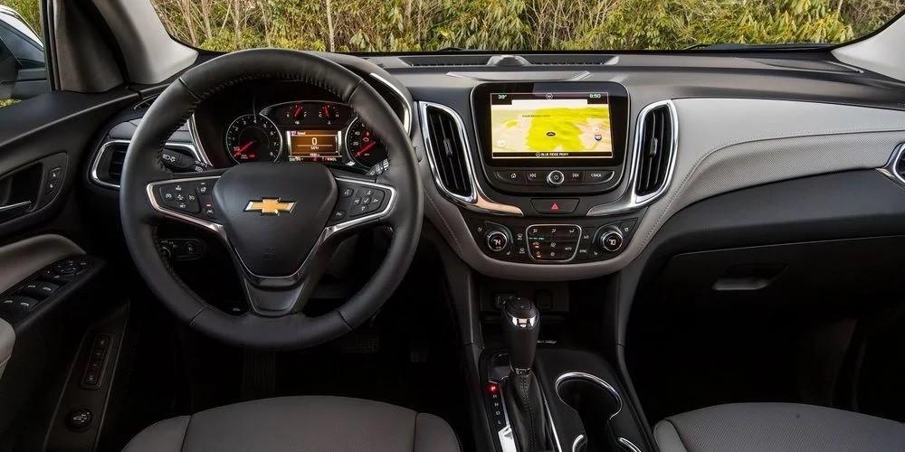 Nội thất của Chevrolet Equinox 2018