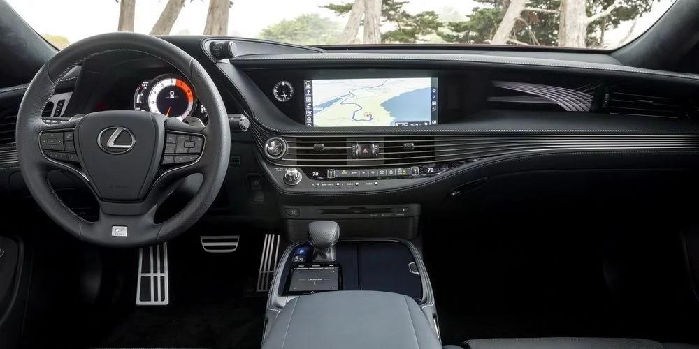 Nội thất của Lexus LS500 2018
