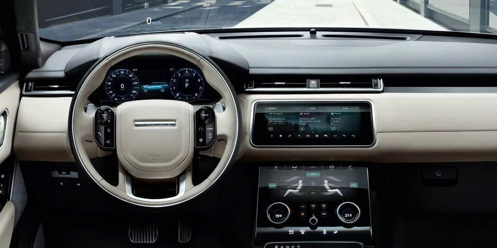 Nội thất của Range Rover Velar 2018
