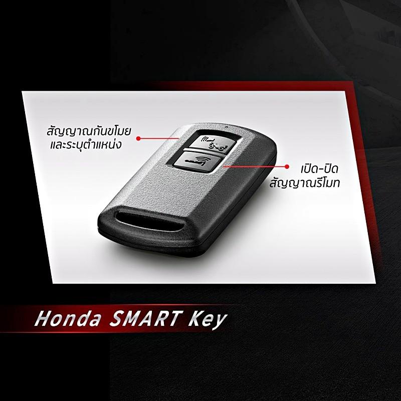 Khóa thông minh Smart Key trên Honda Click 150i 2018