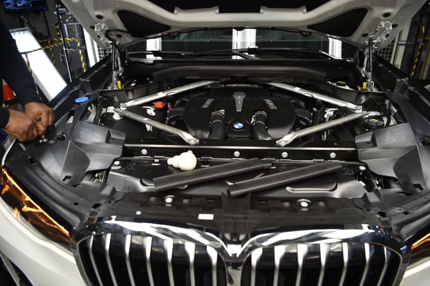 BMW X7 2019 dùng nhiều loại động cơ khác nhau