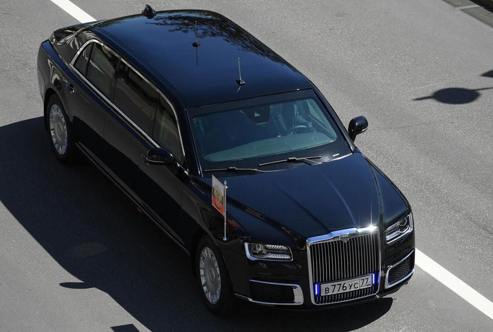 Chưa rõ thông số kỹ thuật của chiếc limousine mới