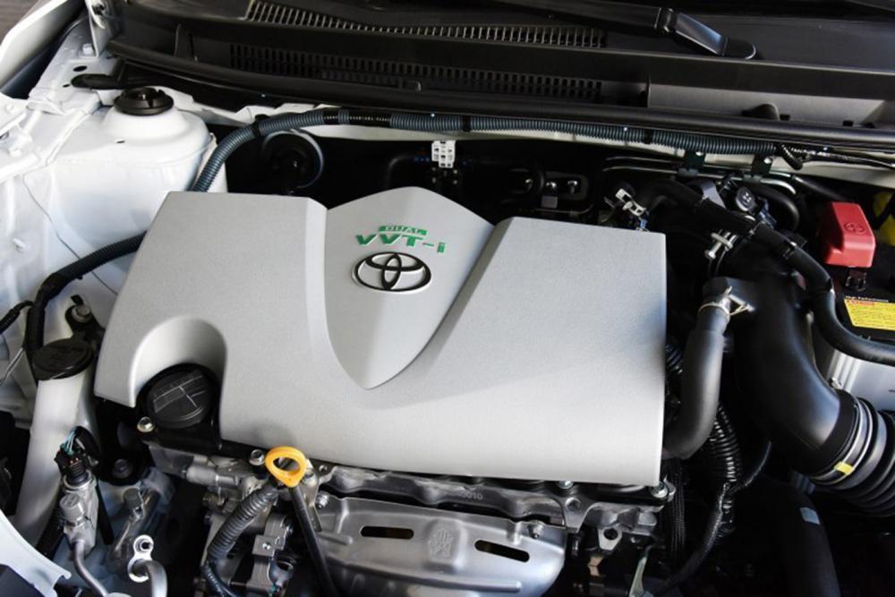 Trang bị động cơ của xe Toyota Yaris