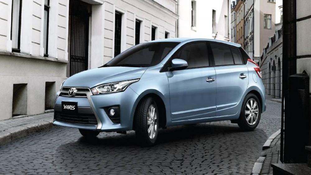 Thiết kế ngoại thất của xe Toyota Yaris