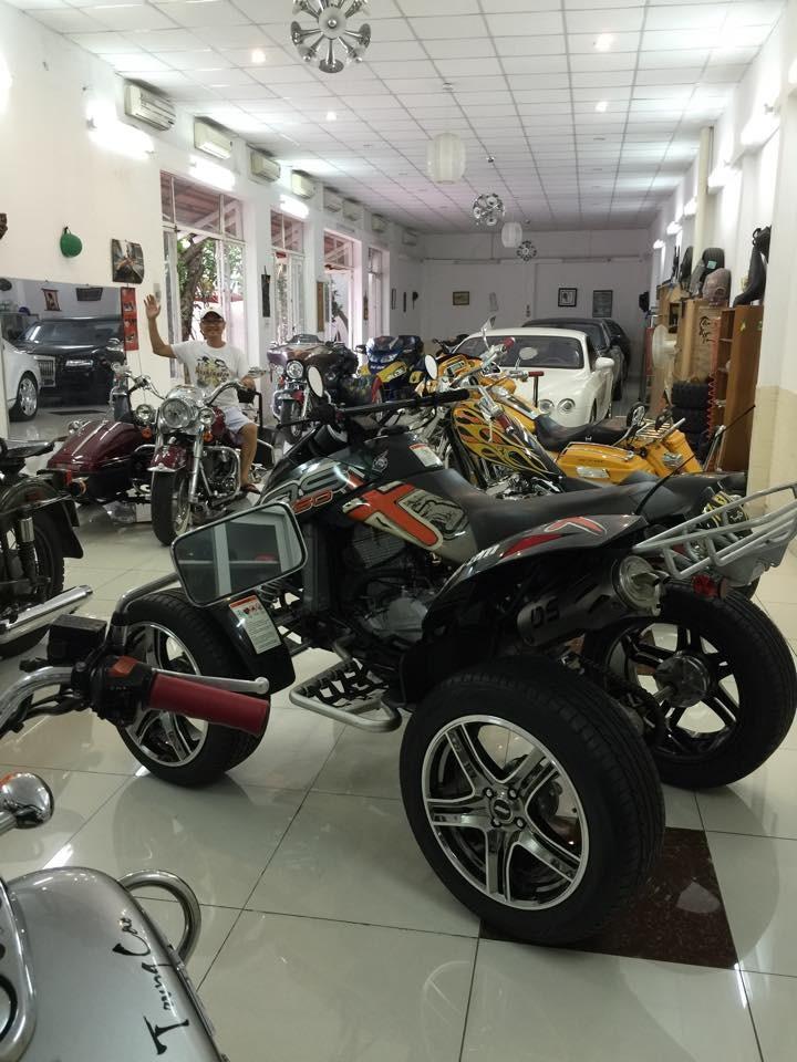 Bộ sưu tập mô tô của Cao Hoài Trung