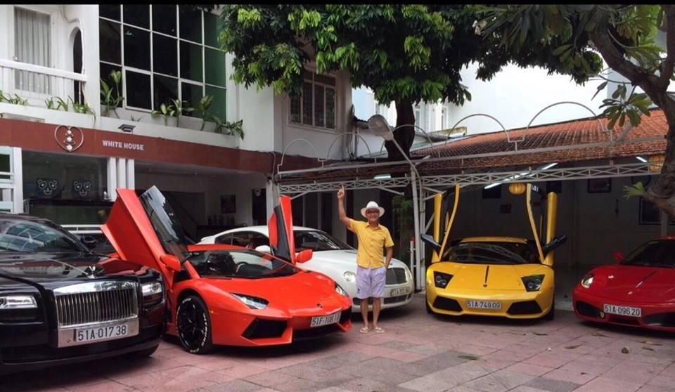 Ngoài xe phân khối lớn, doanh nhân Cao Hoài Trung còn sở hữu bộ sưu tập siêu xe khủng