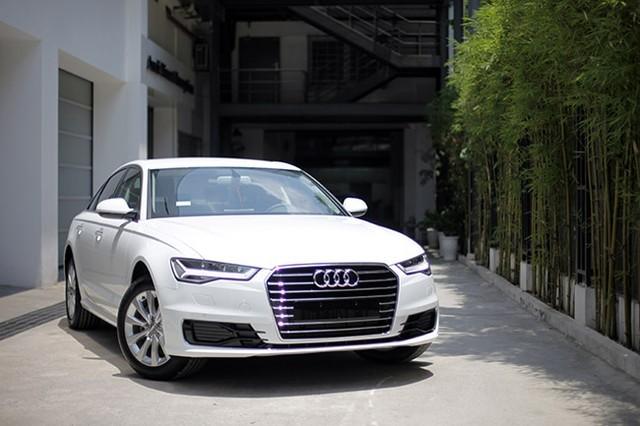 Thiết kế Ngoại thất của Audi A6