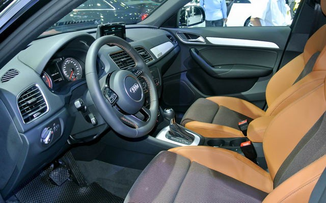 Thiết kế Nộithất của Audi Q3