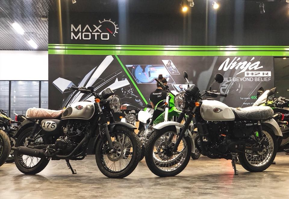 Kawasaki W175 tại showroom