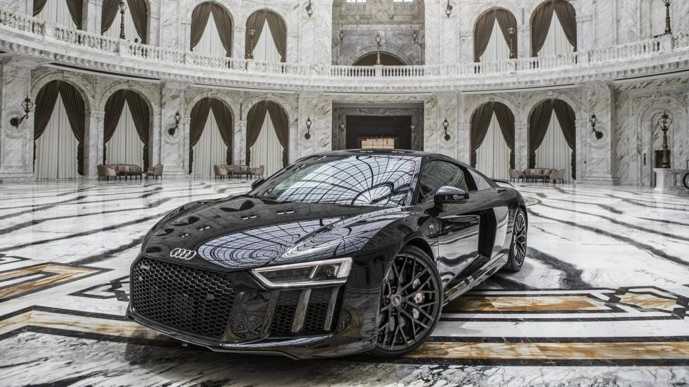 Audi R8 V10 Plus dùng động cơ V10, dung tích 5,2 lít mạnh hơn R8 RWS