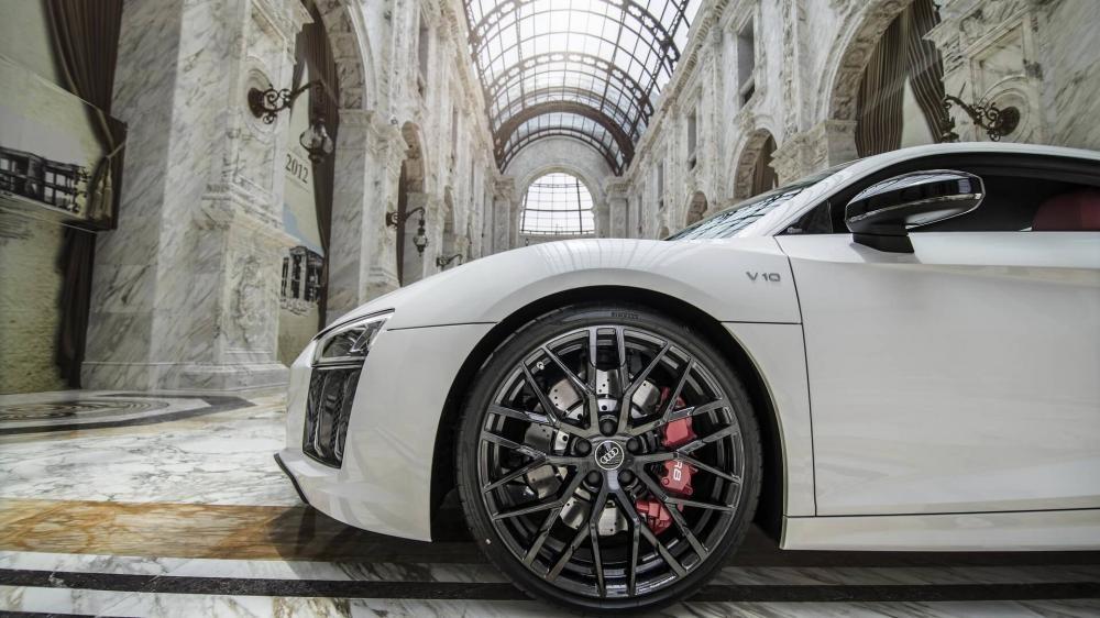 Audi R8 RWS 2018 dùng hệ dẫn động cầu sau
