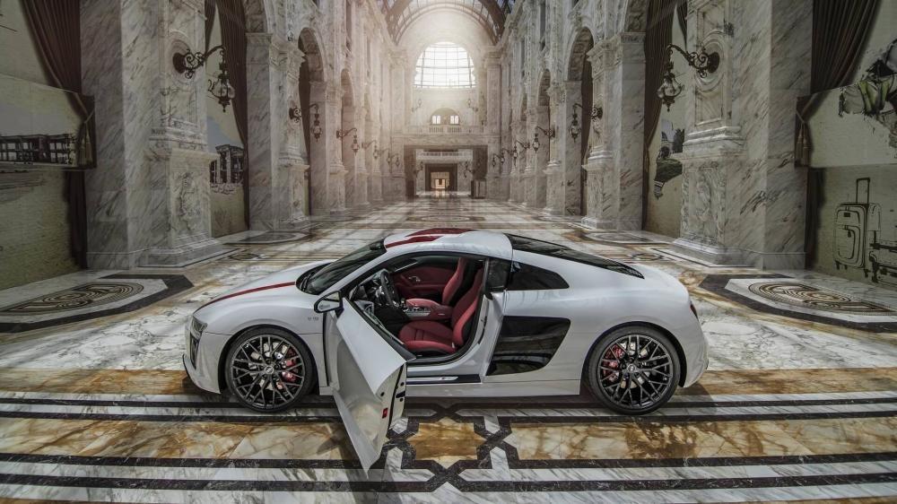 Audi R8 RWS 2018 có trọng lượng 1.590 kg