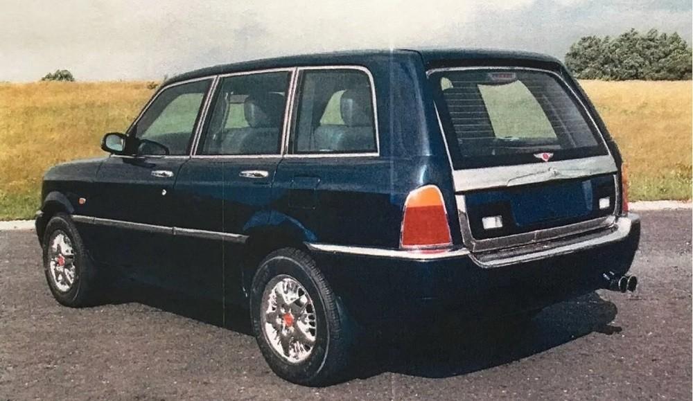 Bentley Dominator với cửa cốp độc đáo