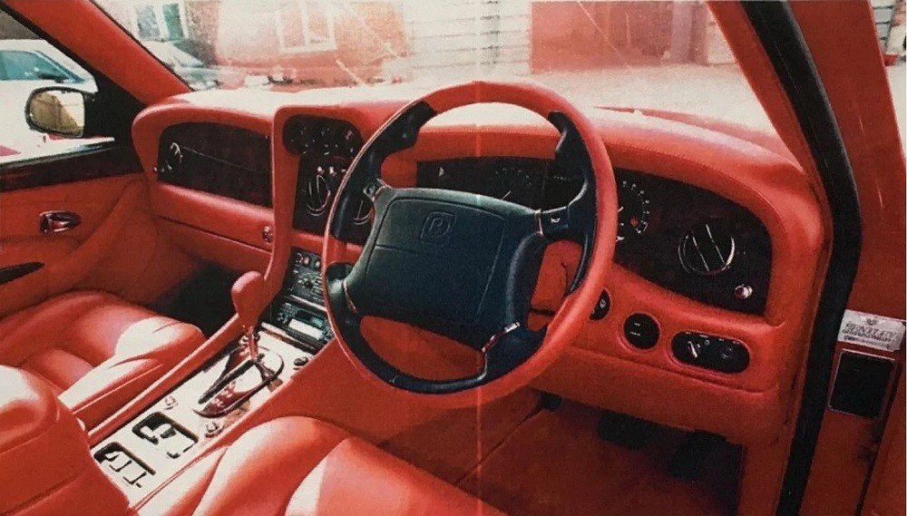 Nội thất của một chiếc Bentley Dominator
