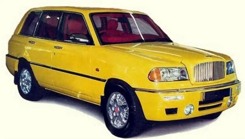 Bentley Dominator màu vàng