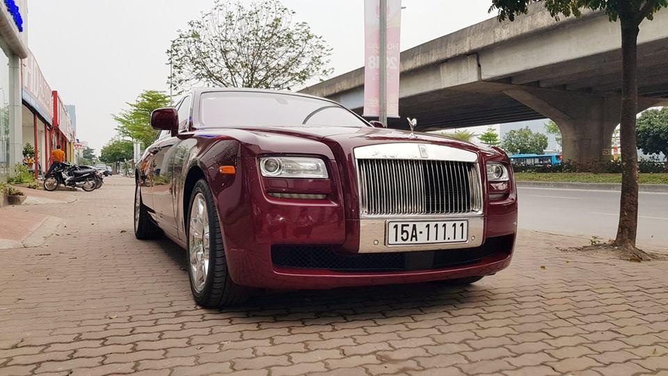 Rolls-Royce Ghost đời cũ mang biển ngũ quý 1 của Hải Phòng