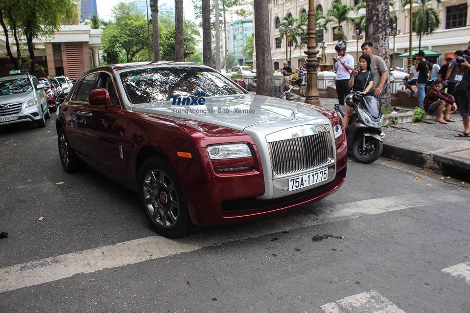 Rolls-Royce Ghost đầu tiên mang biển số Thừa Thiên Huế