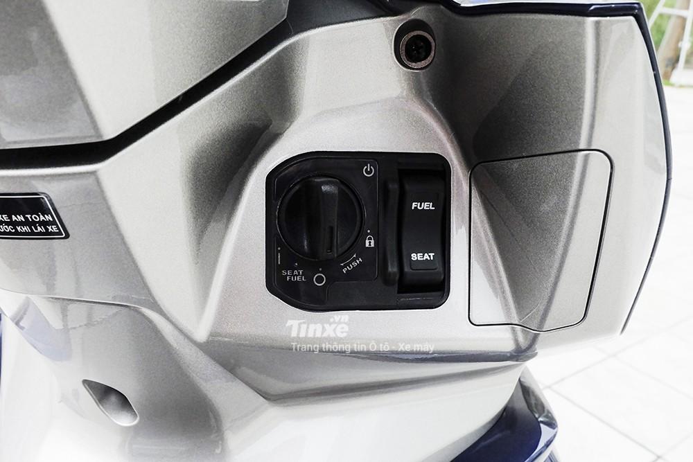 Honda Air Blade 2018 được trang bị Smart Key