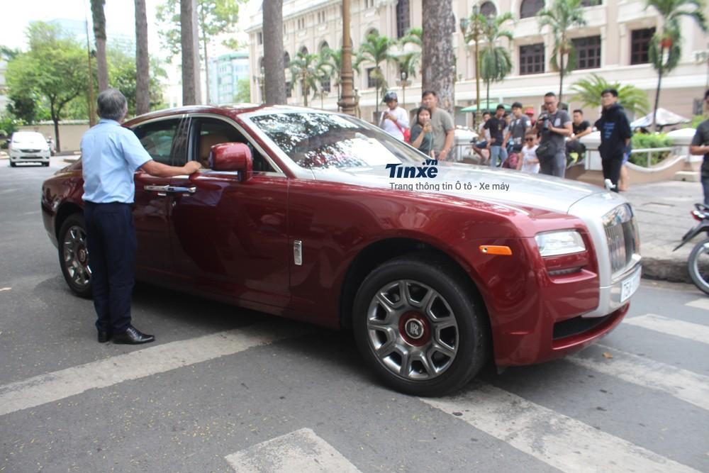 Rolls-Royce Ghost đời cũ