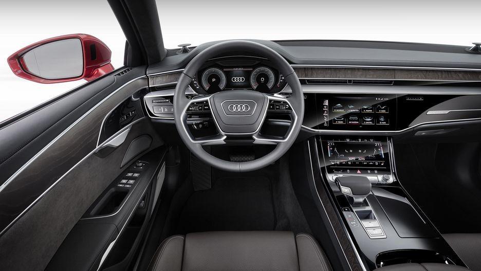 Nội thất bên trong Audi A8 2019
