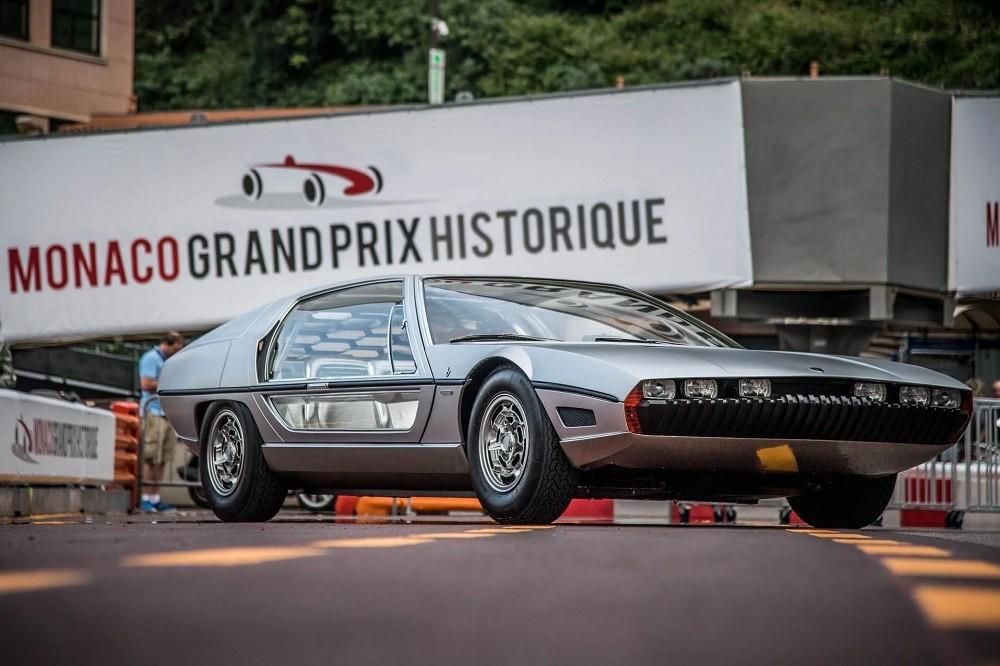 Đây là lần đầu tiên chiếc Lamborghini Marzal chạy trên đường sau 51 năm mất hút