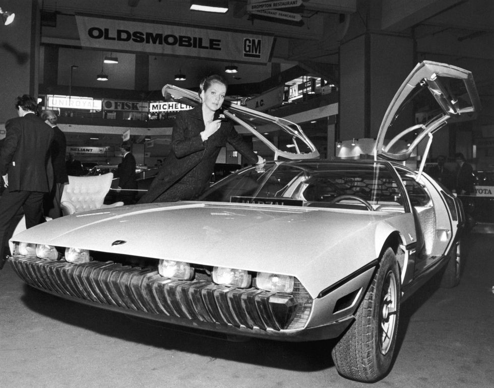 Lamborghini Marzal xuất hiện trong triển lãm ô tô Geneva 1967