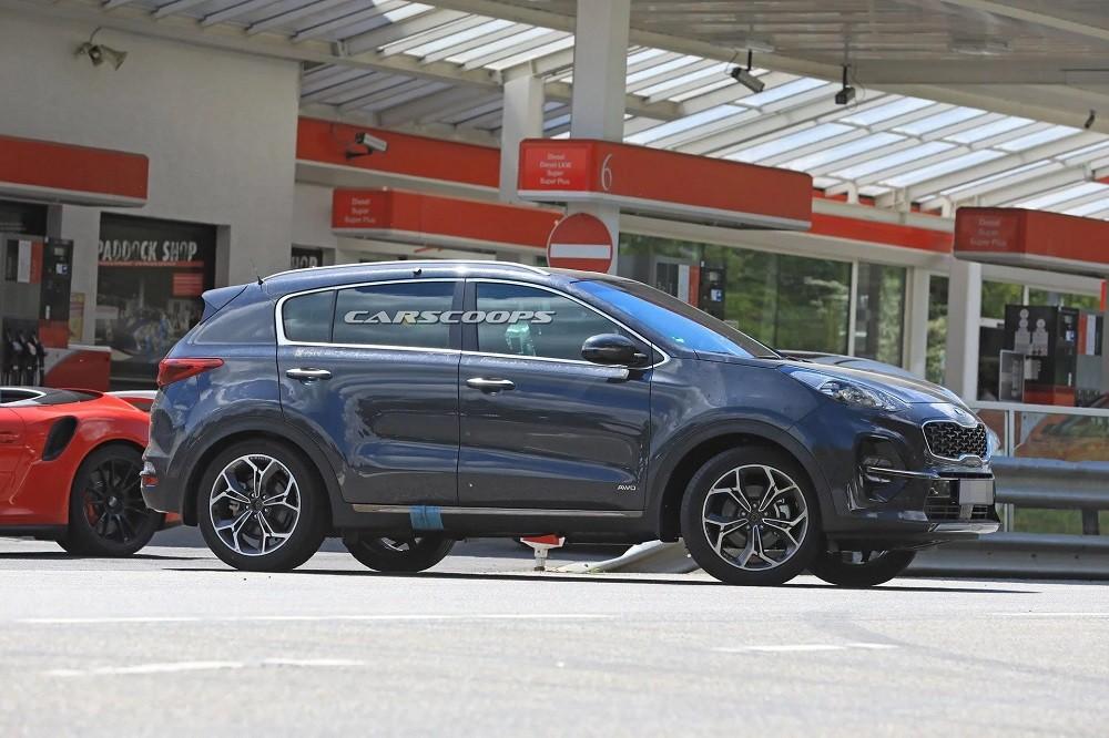 Kia Sportage 2019 dùng động cơ diesel có sự hỗ trợ của hệ thống mild hybrid