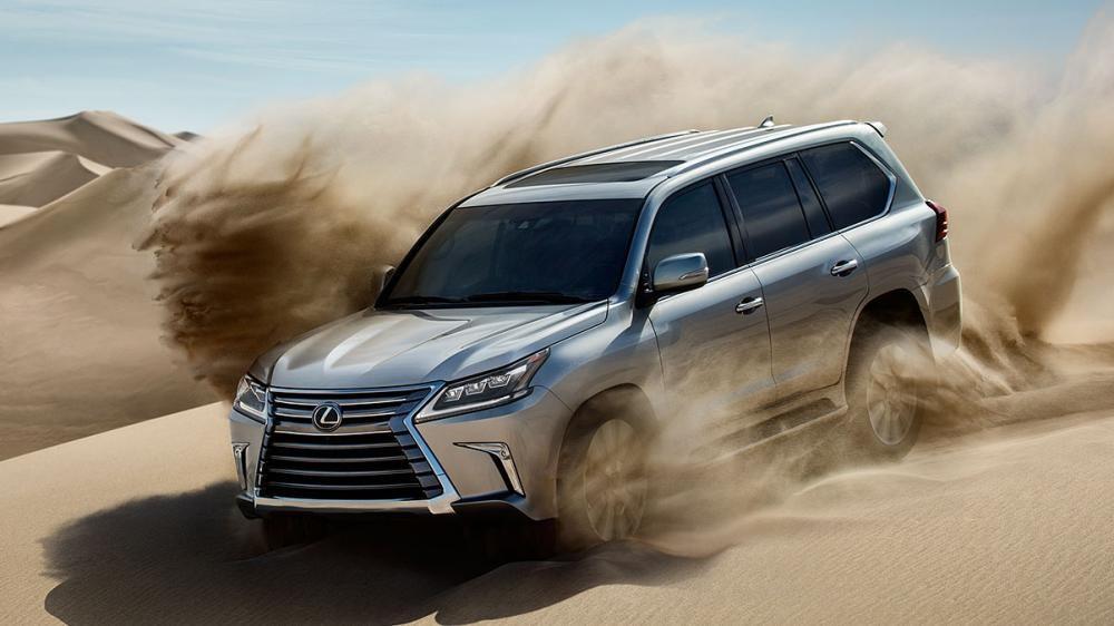 LX hiện là mẫu SUV đầu bảng của hãng Lexus