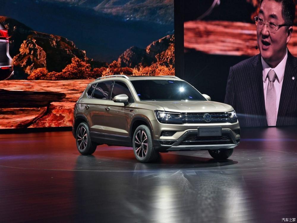 Xe concept Volkswagen Powerful Family SUV đã ra mắt Trung Quốc vào tháng 3 năm nay