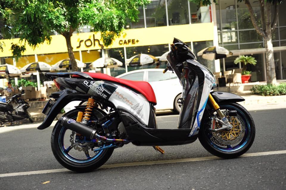 Honda SH độ hết 200 triệu Đồng
