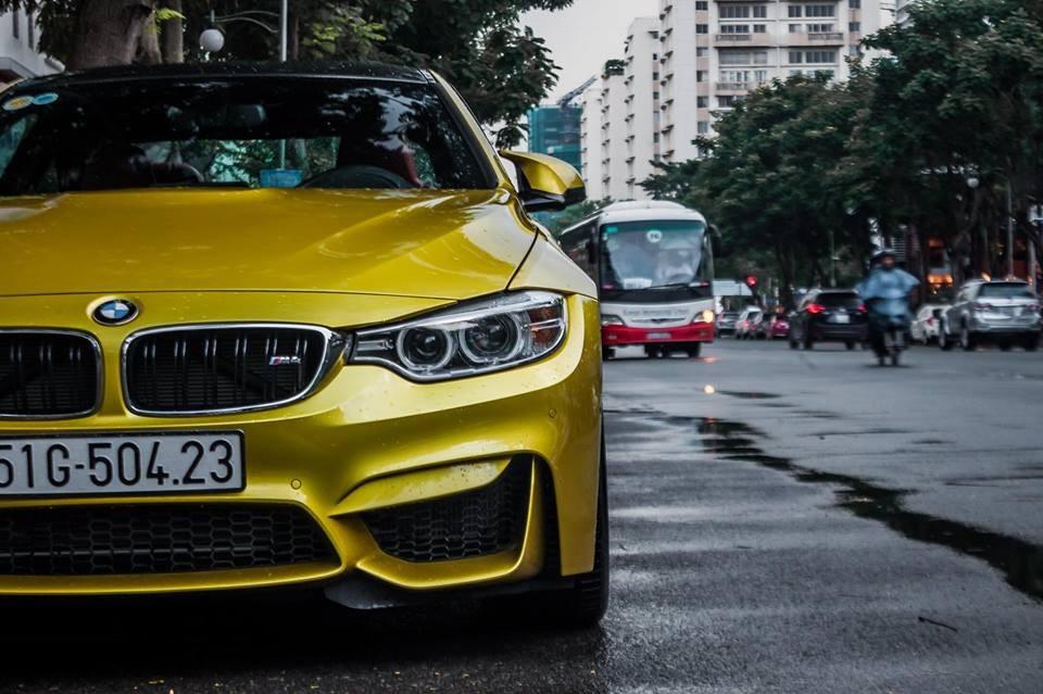BMW M4 là phiên bản hiệu suất cao của dòng xe BMW 4-Series,