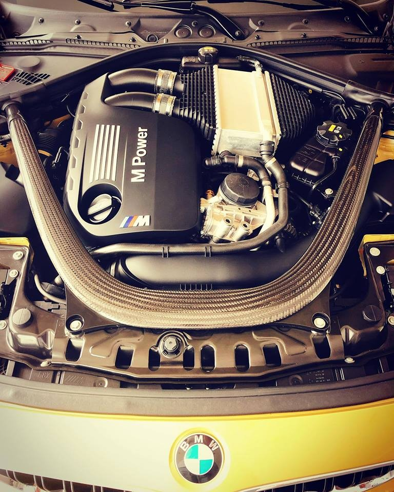 So với phiên bản BMW 4-Series, BMW M4 có nâng cấpấn tượngởđộng cơ