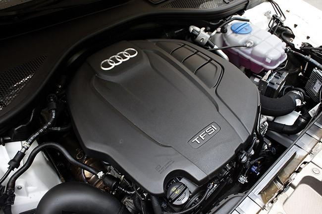 Trang bị Động cơ của Audi A6