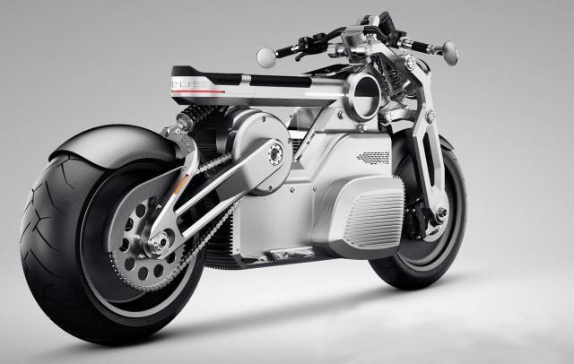 Mô tô điện Zues được trang bị đến 2 mô tô điện