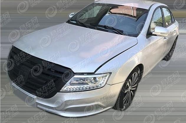 Mẫu xe điện của CRRC trông rất giống xe Audi A4 với một tấm lưới tản nhiệt to tướng ở phía trước